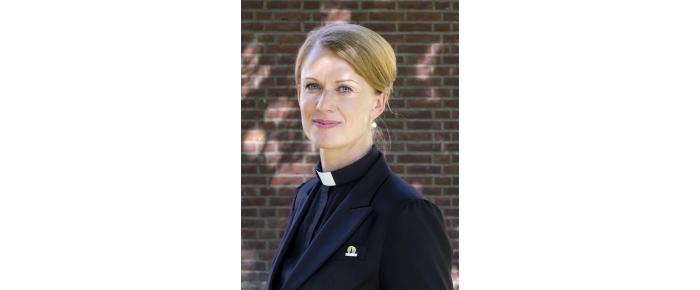 Elisabeth Thorsen, sokneprest i Oslo DomkirkeFoto: Tom Henning Bratlie
